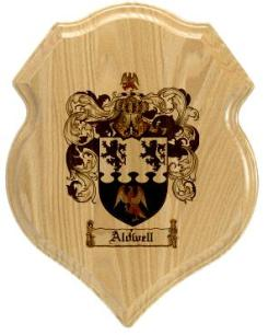 aldwell-family-crest-plaque