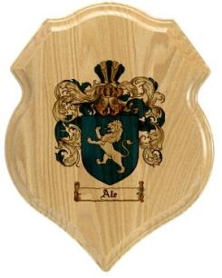 ale-family-crest-plaque