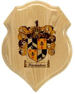 alecsankov-family-crest-plaque
